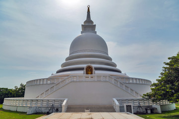 White Japanese Peace Pagoda