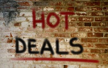 Hot Deals Concept