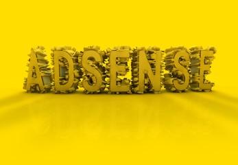 Adsense, 3D Typography