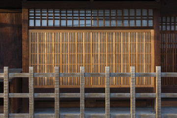 traditional architecture in Kyoto, Japan