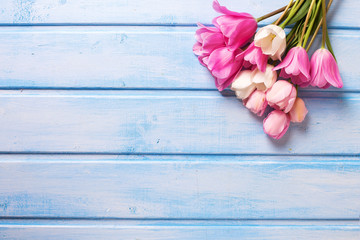 Background with tender flowers