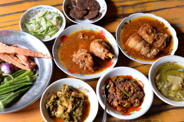 Myanmar Food Set
