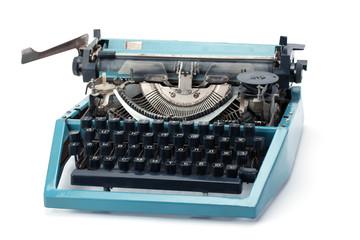 Old retro typewriter.