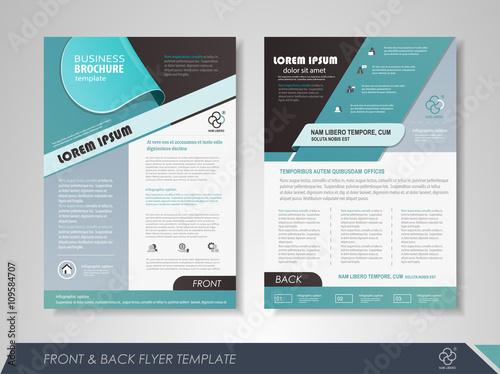 Business Flyer Templates   Business Flyer Template Stockfotos Und Lizenzfreie Vektoren Auf