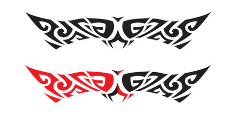 Graphic vector design for tattoo or t-shirt