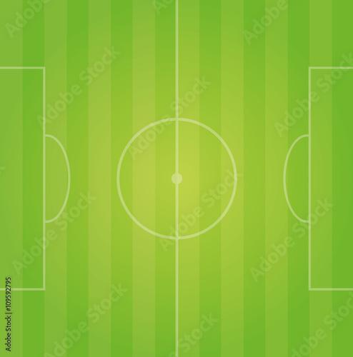 Fussballfeld Spielfeld Grun Vektor Hintergrund Stock Image