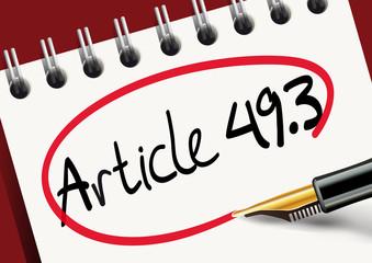 Réformes - Article 49.3