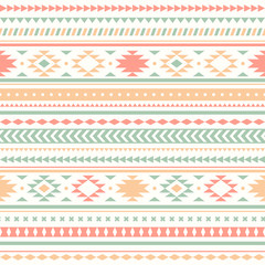 Seamless vector tribal texture
