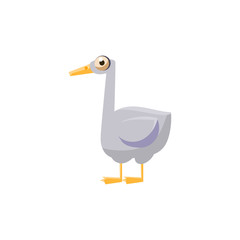 Goose Simplified Cute Illustration