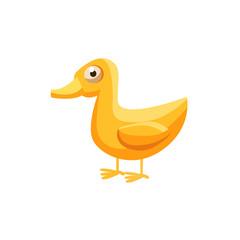 Duck Simplified Cute Illustration