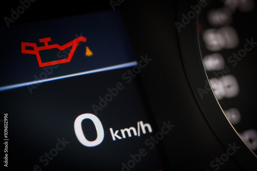 Oil Symbol In A Car Stock Photo And Royalty Free Images On Fotolia