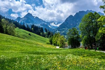 Wanderung am Schwarzsee in der Schweiz