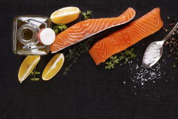 Luxurious salmon background.