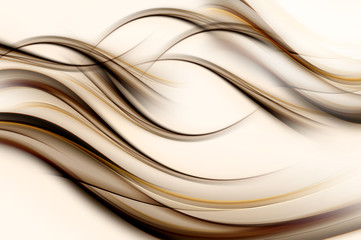 New Style Abstract Brown Wave Design Background