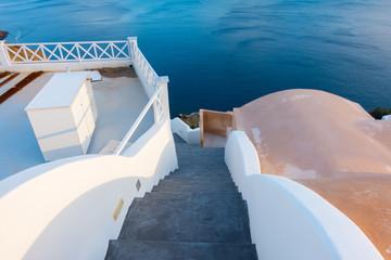 Stairs to Santorini