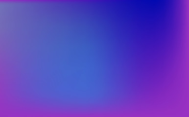 Abstract purple and blue blur color gradient background
