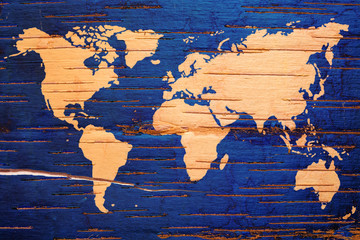 Birch cork background