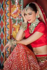 Thai women perform dances of India in historical costumes