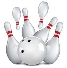 Bowlining ball, bowling, game