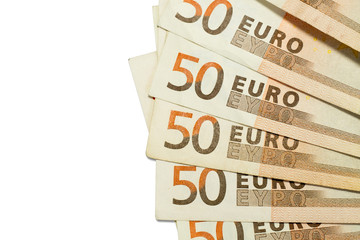 50 euro bills texture