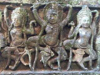 Temple, decoration detail