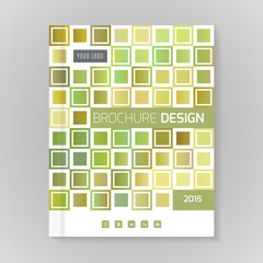 Vector design template layout for brochure, cover, infographic