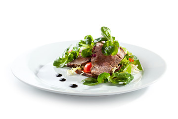 Beef Salad over White