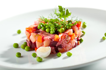 Beetroot and Potato Salad