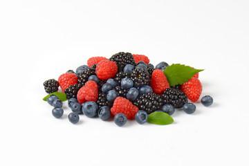 Heap of fresh berries