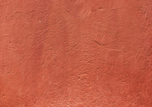 red stucco texture
