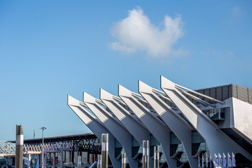 Dach einer Arena in Bremen