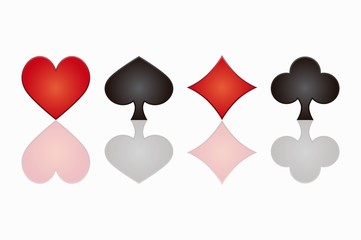 background poker icons