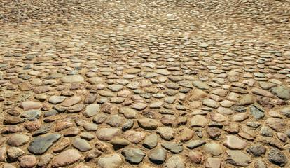 Ancient pavement  road