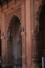 Mehrangarh Fort, located in Jodhpur, Rajasthan is one of the largest forts in India.