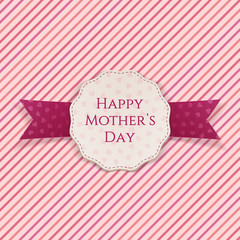 Happy Mothers Day festive Sign
