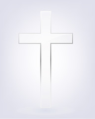 Transparent Cross Christianity Sign and Symbol   Holy Cross   Pure by Grace.
