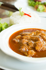 spicy Muslim curry