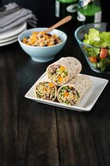 Vegan Quinoa Wraps
