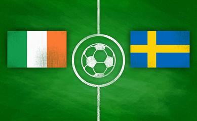 Irland vs. Schweden / Ireland vs. Sweden