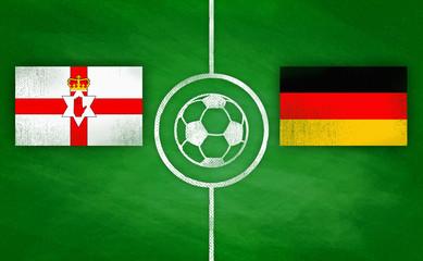 Nordirland vs. Deutschland / Northern Ireland vs. Germany