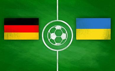 Deutschland vs. Ukraine / Germany vs. Ukraine