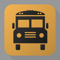 school bus Icon Vector