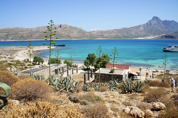 Beautiful beaches of Gramvousa