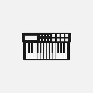 Midi keyboard icon