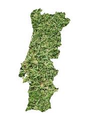 Portugal environmental map
