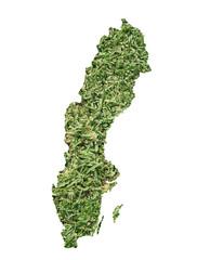 Sweden environmental map
