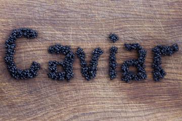 the black caviar