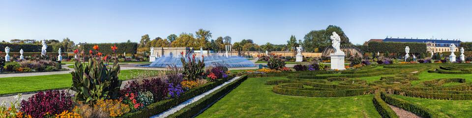Herrenhäuser Gärten Panorama