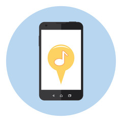 Mobile Music Sign