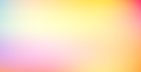 Gradient colorful abstract background